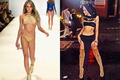 Kyle Sandiland's gal Imogen Anthony has cemented herself not only as a fashion icon, but as Australia's new favourite insty celeb. <br/><br/>We can't get enough of her awesome selfies and daring fashion choices - especially the sand-kini she rocked at Mercedes Benz Fashion Week.