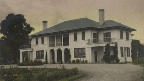 The Lodge as it looked in 1927. (AAP/The National Archives)
