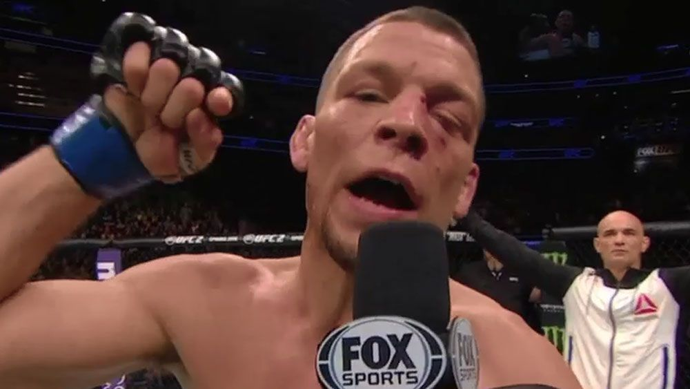 UFC: Foul-mouthed Diaz challenges McGregor