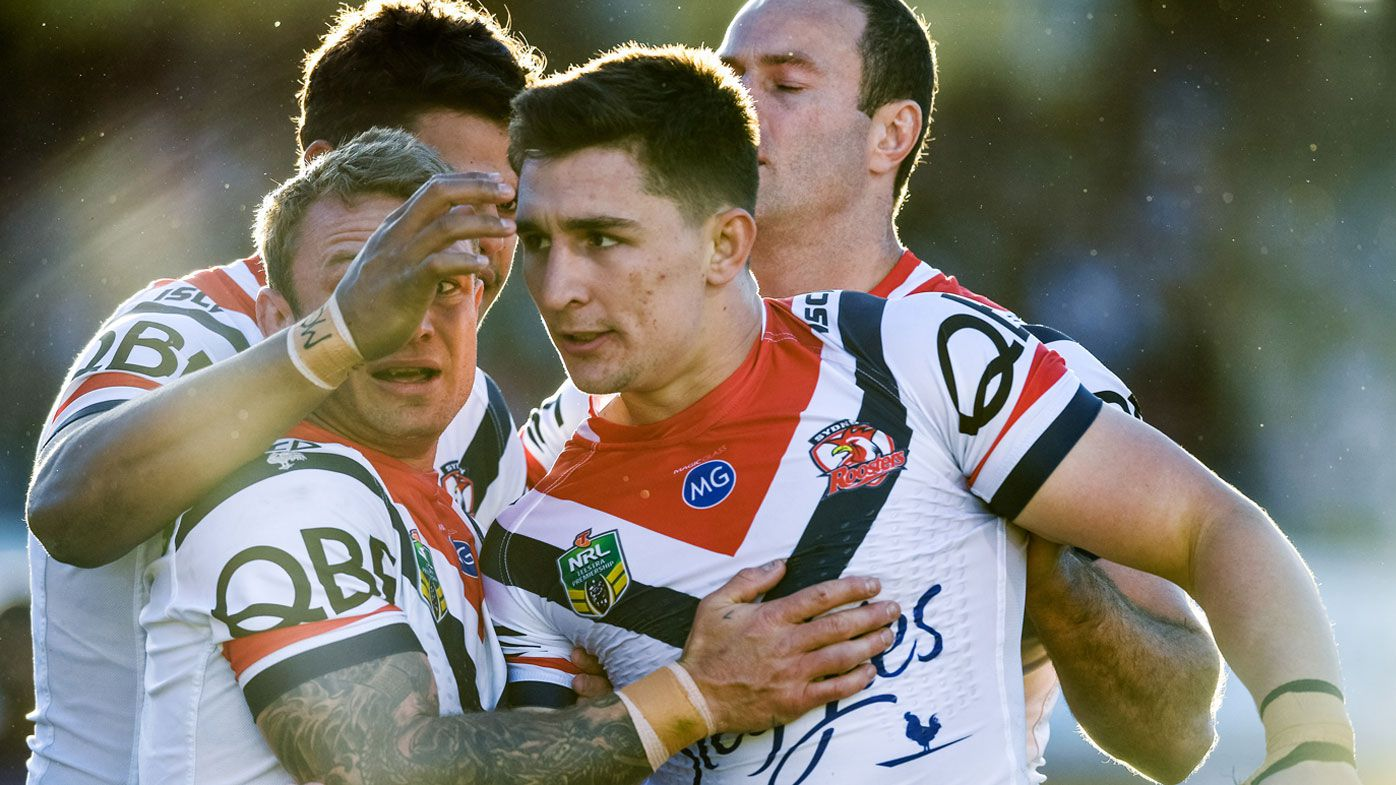 NRL: Sydney Roosters flog Manly Sea Eagles to enter record books