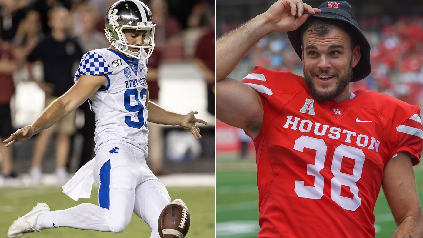 EXCLUSIVE: Two Aussie punters continue amazing college football trend