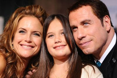 But we're betting the highest volume of baby toys were delivered to <b>John Travolta's</b> house this year, when the troubled family was blessed with baby <b>Benjamin</b> - with wife <b>Kelly Preston</b> (pictured here along with their daughter Ella) delivering him at the amazing age of 48.