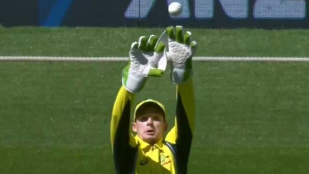 Dropped catch by Handscomb proves costly