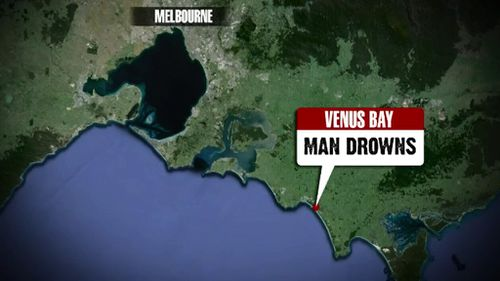 Man drowns at beach in Victoria