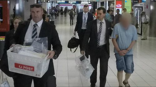 The man was arrested in Queensland and extradited to New South Wales.