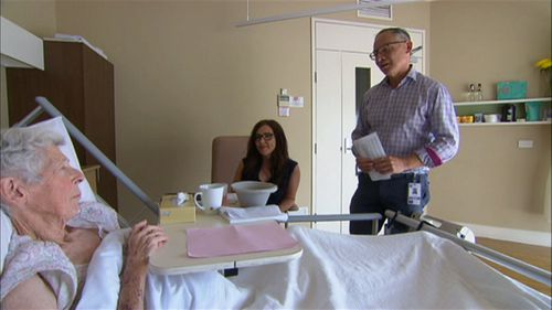 A spokeswoman for Palliative Care Australia told 9News.com.au anxiety is a common and distressing symptom for those entering the final stage of their life.