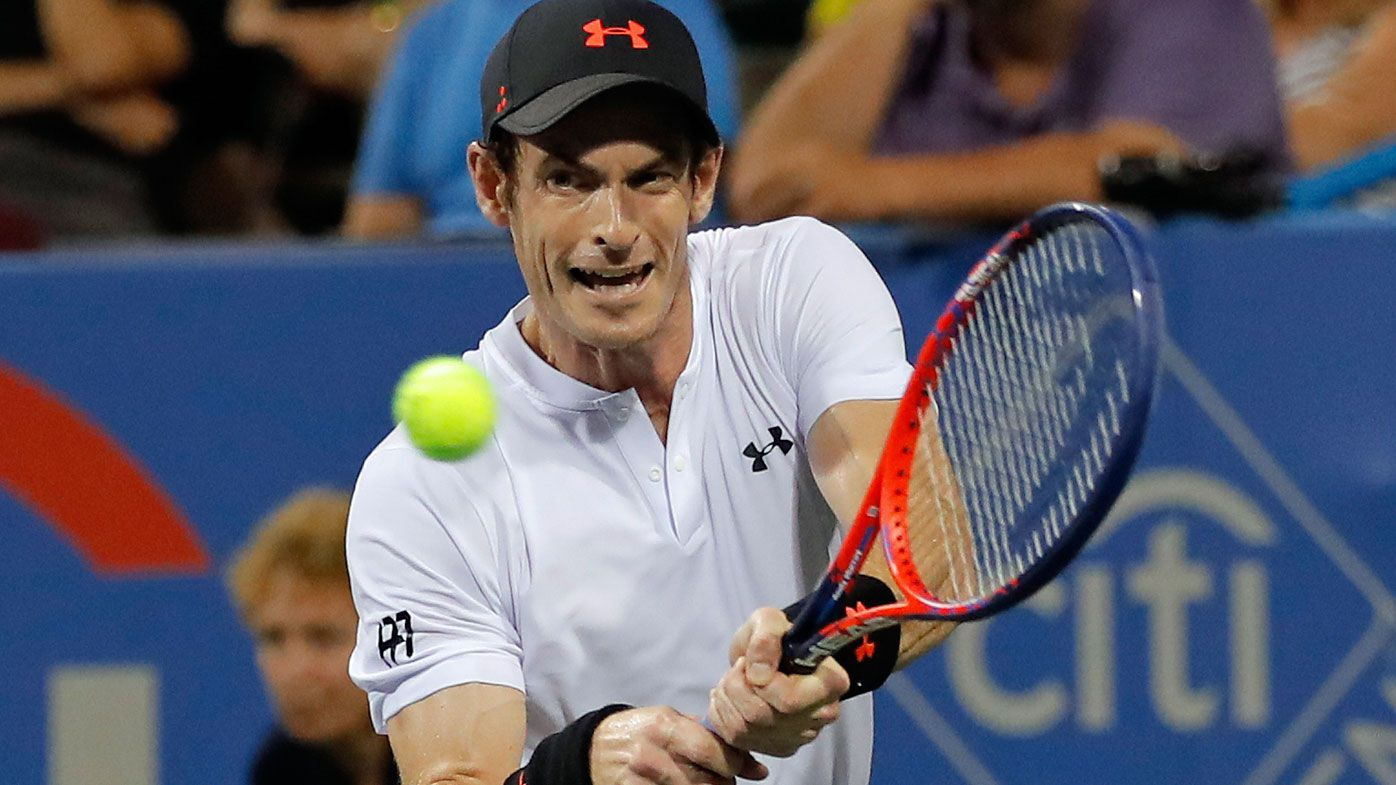 Andy Murray has comeback win in Washington over 80th ranked Mackenzie McDonald