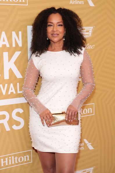 LisaRaye McCoy attends American Black Film Festival Honors Awards Ceremony at The Beverly Hilton Hotel on February 23, 2020 in Beverly Hills, California.