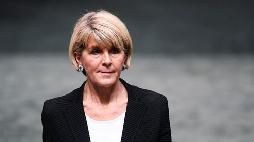 Mr Morrison is expected to announce his new front bench sometime in the next few days but Julie Bishop has decided to move to the backbench.