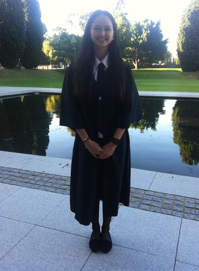 Nadia graduation