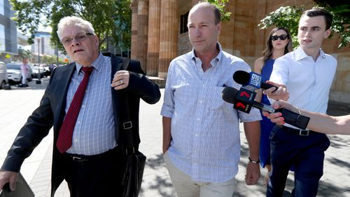 The prominent South Australian winemaker has pleaded not guilty to allegations of child sexual abuse that date back to the 1990s.