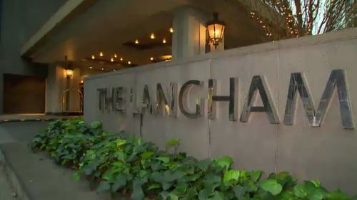 The Langham has cooperated fully with the investigation by the Department of Health. (9NEWS)