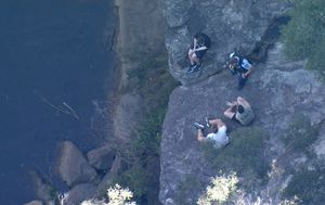 NSW teen's body recovered from Sydney swimming hole after jumping from ledge