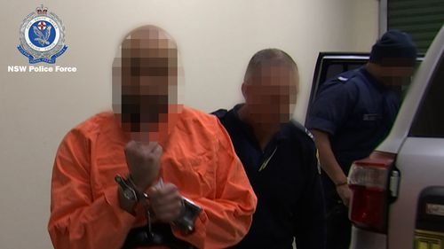 Hamzy was taken to Goulburn Police Station for questioning.