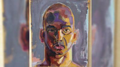 Another of Sukumaran's self portraits. (Facebook)