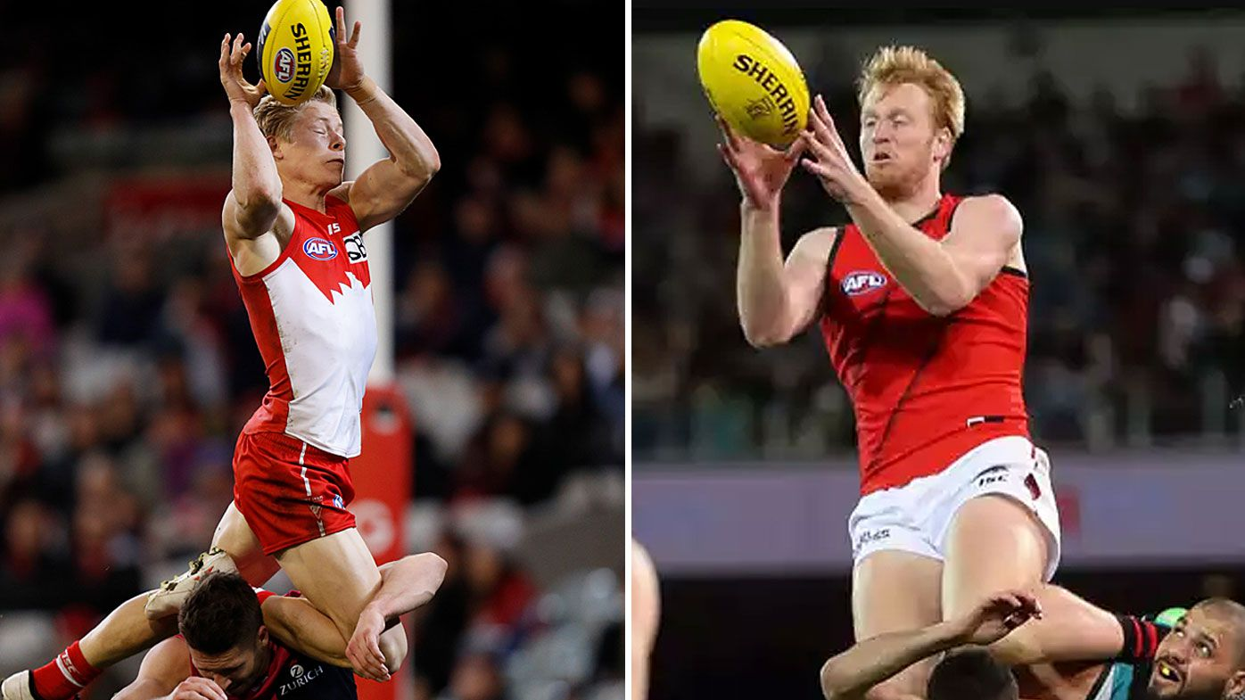 Heeney and Francis' Mark of the Year contenders