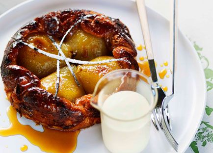 Shannon Bennett: Pear tarte Tatin