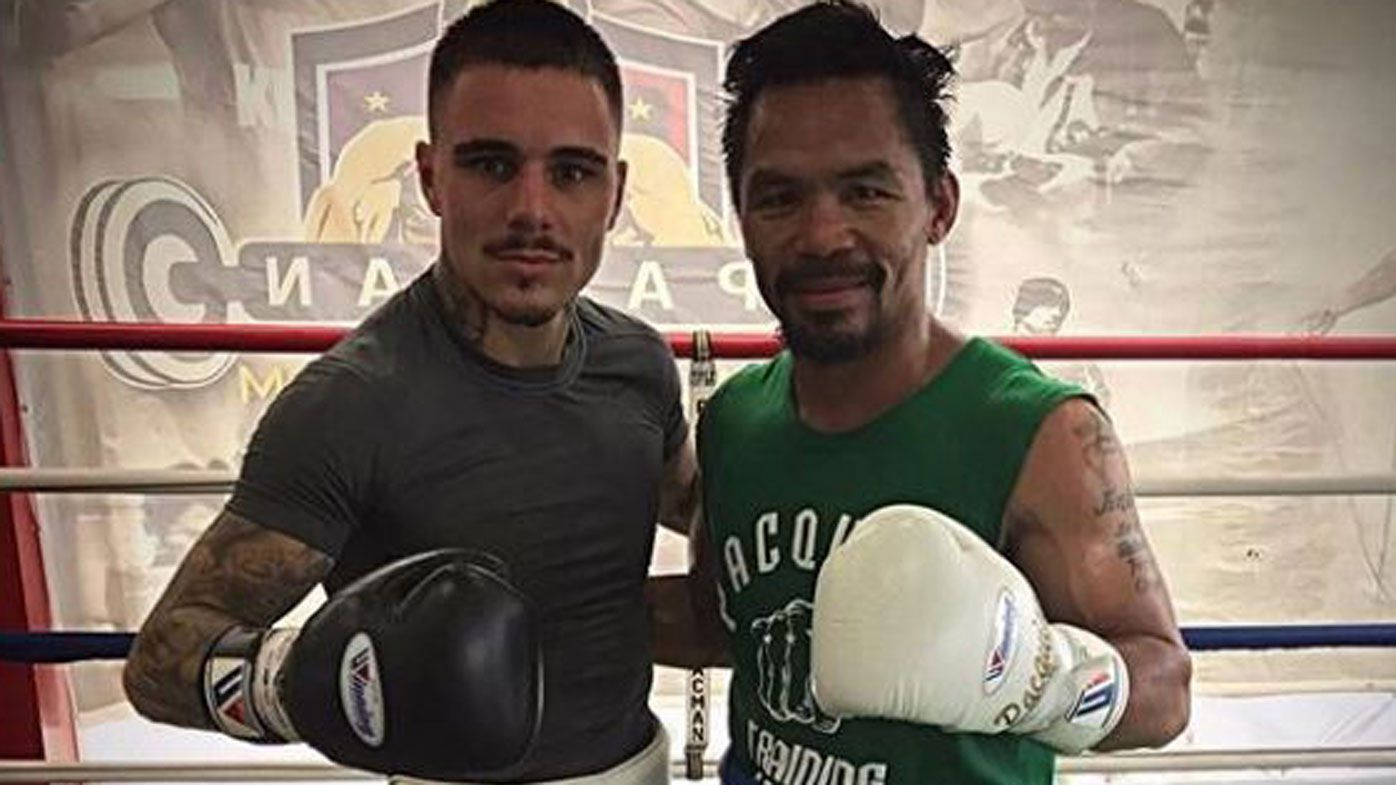 Why Aussie boxer George Kambosos Jr ended Manny Pacquiao sparring partnership
