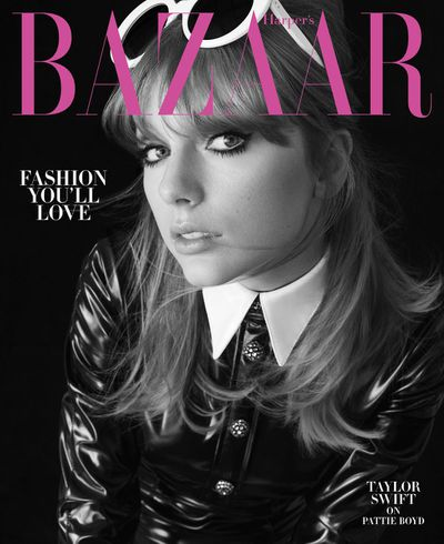 """Having long shed the <a href=""""https://style.nine.com.au/2016/08/17/11/00/taylor-swift-curl-comeback"""" target=""""_blank"""" title=""""pigtails and curly ringlets from her early days in the spotlight,"""" draggable=""""false"""">pigtails and curly ringlets from her early days in the spotlight,</a> Taylor Swift's latest style reincarnation is her edgiest yet.<br /> <br /> The Grammy award-winner is <em><a href=""""https://www.harpersbazaar.com/culture/features/a22020940/taylor-swift-interviews-pattie-boyd/"""" target=""""_blank"""" title=""""US Harper's Bazaar August cover star"""" draggable=""""false"""">US Harper's Bazaar August cover star</a></em>, where she stars in a swinging '60s-inspired shoot by photographer Alex Lubomirski.<br /> <br /> Clad in rocker garb from Miu Miu, Saint Laurent and Dior, the edgy images mark a departure from the singer's previous, positively sunny, cover looks.<br /> <br /> The inspiration behind Swift's retro cover falls onto the petite shoulders of rocker muse and former wife of Beatles guitarist George Harrison, Pattie Boyd.<br /> <br /> Rather than talking about her own love woes, feud with Kanye and falling out with Katy Perry, Swift interviewed Boyd about her time in the spotlight, Beatlemania and her role as a fashion muse.<br /> <br /> """"I find the concept of being a muse understandable when you think of all the great painters, poets, and photographers who usually have had one or two, """" Boyd told Swift.<br /> <br /> """"The artist absorbs an element from their muse that has nothing to do with words, just the purity of their essence.""""<br /> <br /> The Bad Blood singer has a made slow return to the forefront of fashion magazines over the past year. Her last appearance for a major fashion magazine was for <em><a href=""""https://style.nine.com.au/2017/12/05/13/17/taylor-swift-vogue"""" target=""""_blank"""" draggable=""""false"""">British Vogue</a></em><a href=""""https://style.nine.com.au/2017/12/05/13/17/taylor-swift-vogue"""" target=""""_blank"""" draggable=""""false""""> as their December 2017 cover star.</a>"""