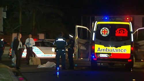 Paramedics were unable to revive the wounded man. (9NEWS)