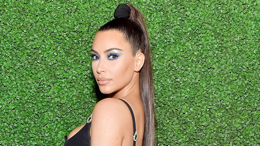 The unusual product Kim Kardashian uses for long lashes