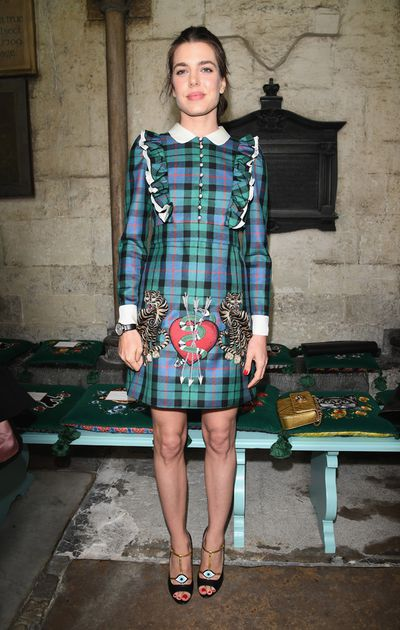 Gucci held its Resort 2017 show in London's Westminster Abbey with a front row of a-listers to match the regal setting. Grace Kelly's granddaughter Charlotte Casiraghi was just one of the guests decked out in some of favourite pieces from Alessandro Michele's AW16 collection, which was shown at Milan Fashion Week in February. Other standout looks included Elle Fanning, Alexa Chung and Georgia May Jagger. With a frow this good, Gucci fever shows no signs of waning.