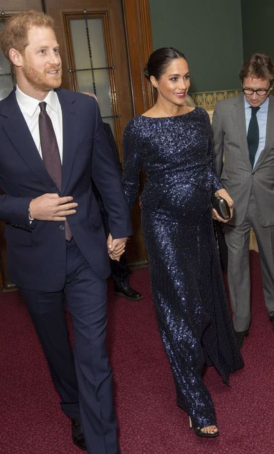 Harry and Meghan pregnant with Archie