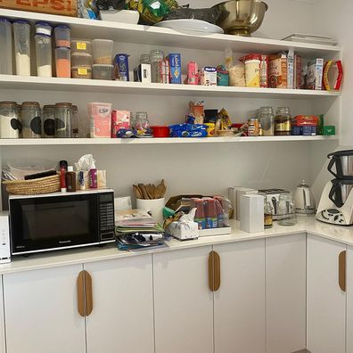 Inside Deb Saunders' stunning pantry makeover