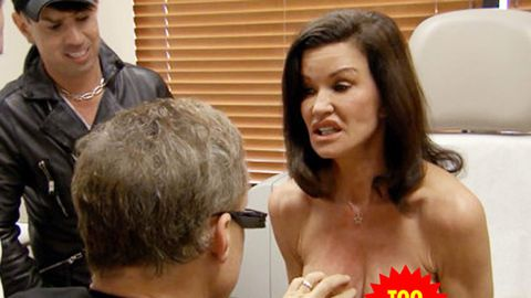 'World's first supermodel' Janice Dickinson gets 30-year-old 'bread loaf' breast implants fixed on new TV show Botched