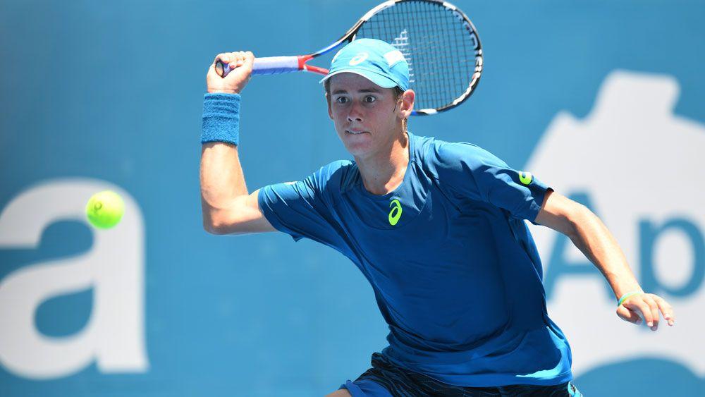 Aussie teen upsets Paire at Sydney tennis