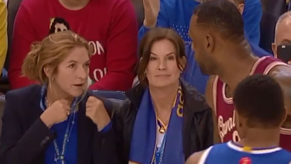 Basketball: LeBron teaches taunting fan a lesson