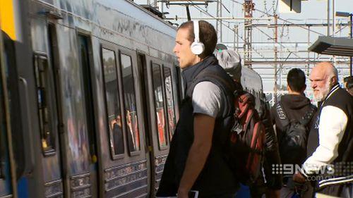 Melbourne train strike starts to bite