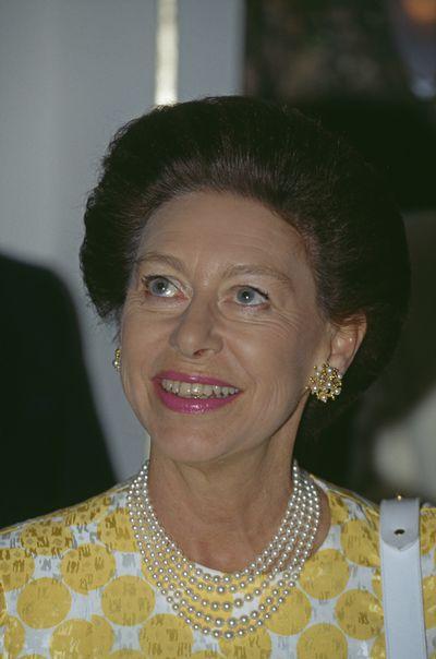 Princess Margaret at 10 Downing Street,  July 1990