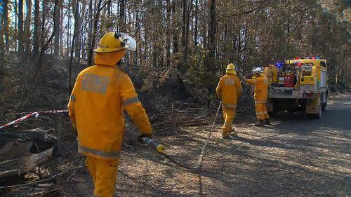 190912 Queensland bushfire emergency Peregian Beech Beechmont news Australia