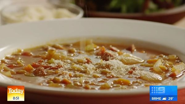 Three perfect winter soup ideas