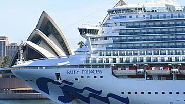 Ruby Princess in Sydney (Getty)