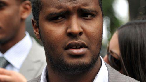 Siege gunman Yacqub Khayre. (AAP)