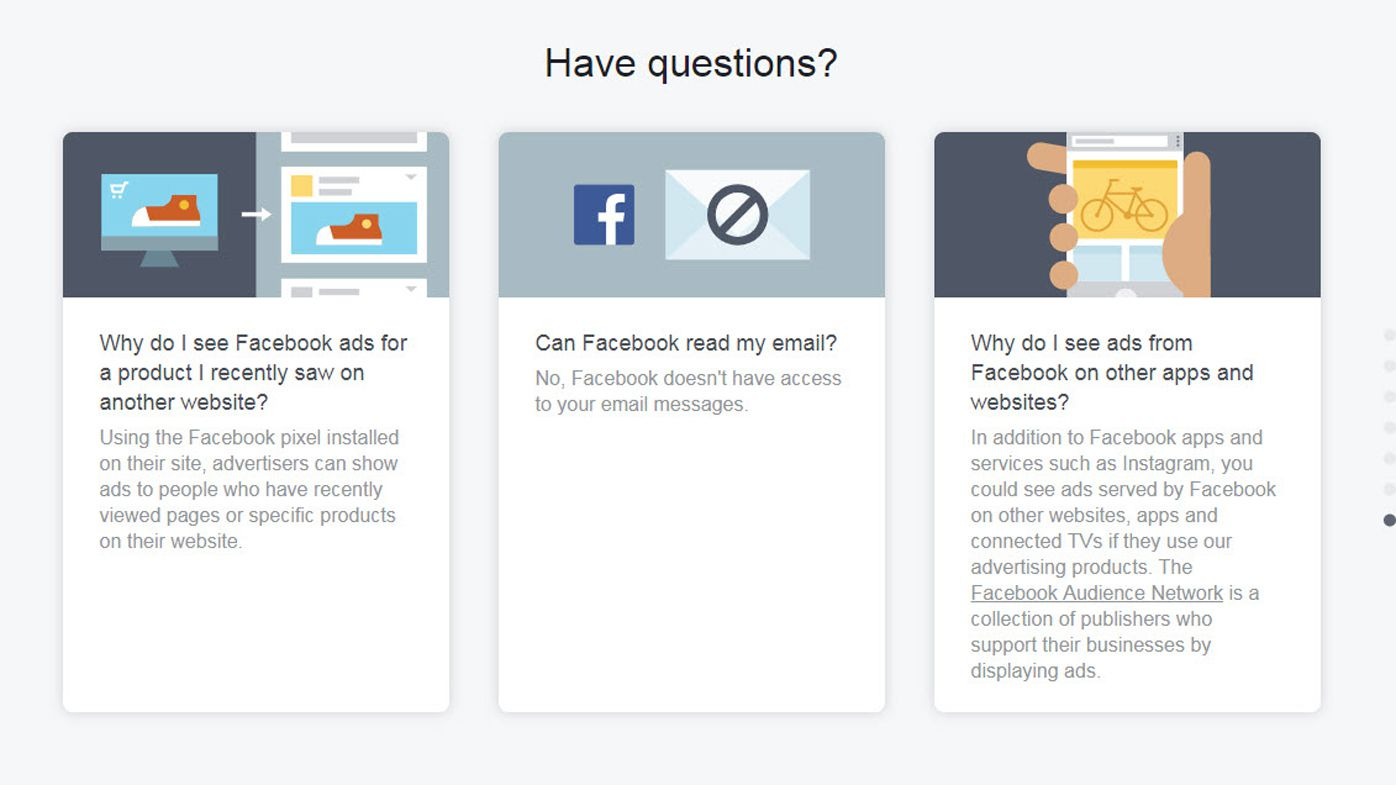 EXPLAINER: How Facebook decides what ads appear in your