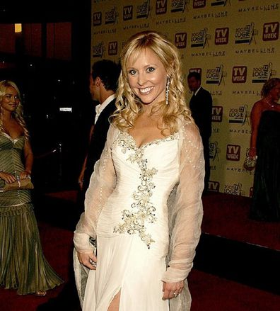 Charli Robinson Logies white dress
