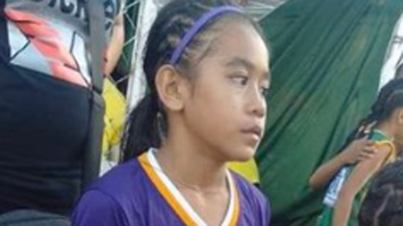 12-year-old Philippines athlete dominates in custom 'Nikes'