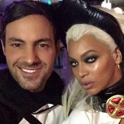 Comedian Jeff Lye and Beyonce