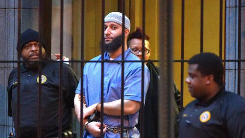 "Officials escort ""Serial"" podcast subject Adnan Syed"