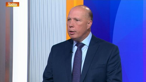 Peter Dutton told Today the family knew they were going to be deported after an earlier High Court ruling.