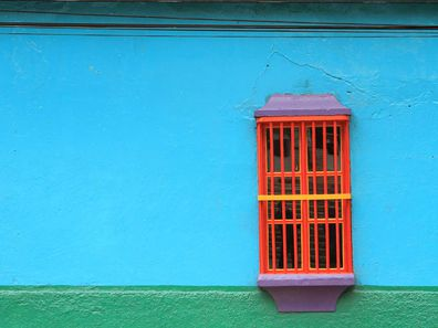 Venezuela colourful house
