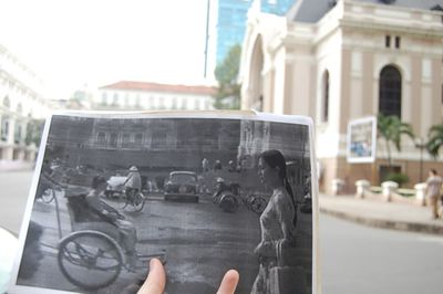 A scene from <I>The Quiet American</I> (2002) in Ho Chi Minh City, Vietnam. (Christopher Moloney)