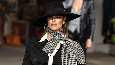 Ashley Graham, pregnant, New York Fashion Week, Tommy Hilfiger