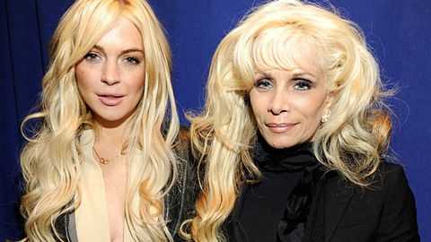 Lindsay Lohan and Victoria Gotti