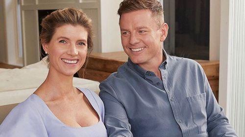Ben Fordham with wife Jodie Speers.