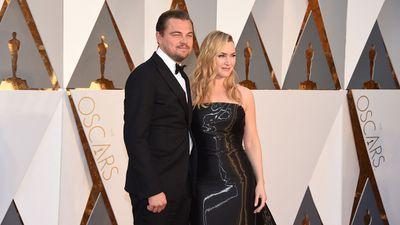 Leonardo DiCaprio and Kate Winslet. (AP)