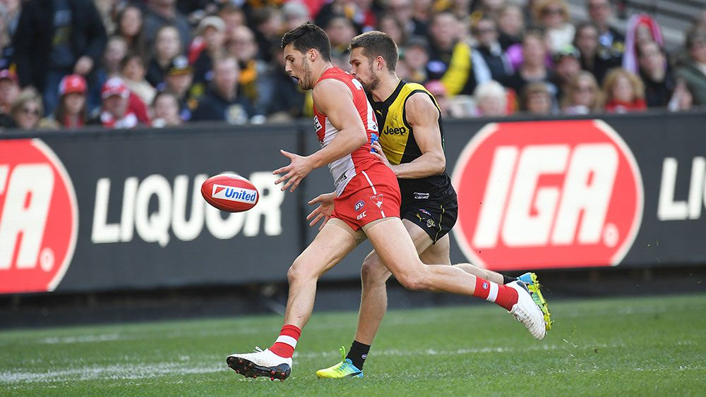 Swans stun Tigers with comeback AFL win